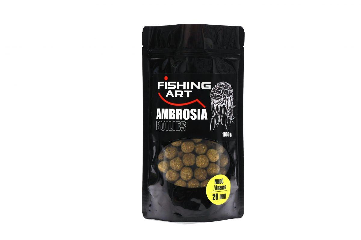 Ambrosia Boilies 1kg Ananas 20mm