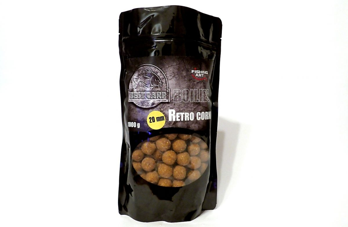 Retro Corn boilies 1kg 20mm